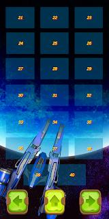 """لعبة """" حامي المجرة """" بتصميمها الجديد على جوجل بلاي"""