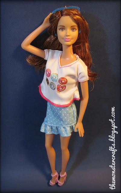 Barbie fashionistas donut top review