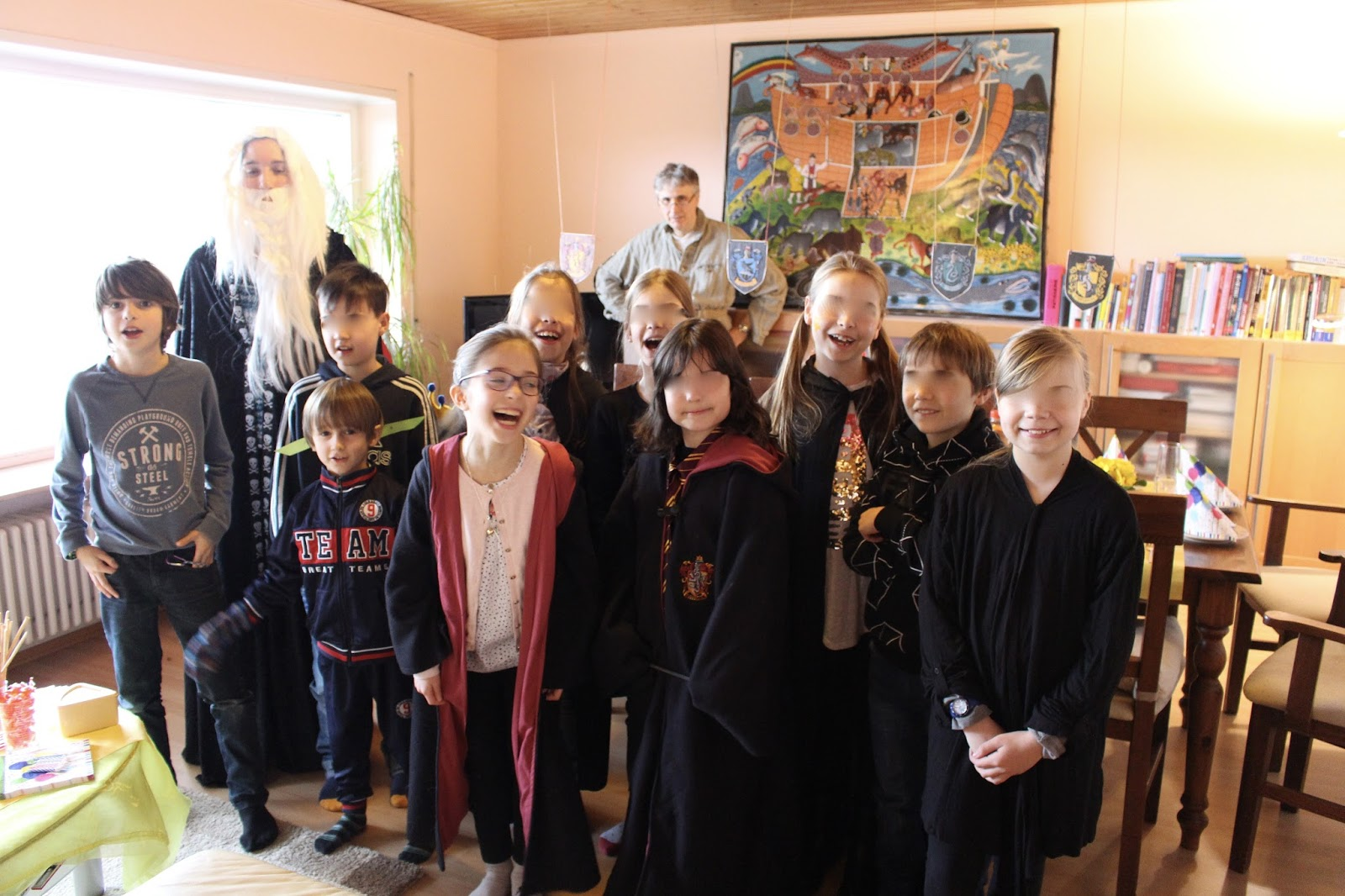 Harry Potter Geburtstagsparty bei Sugarprincess