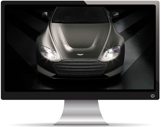Aston Martin V12 Vantage V600 - Fond d'écran en Full HD 1080p