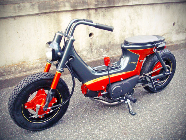 Diagram Of Bone With Labels Free The Wheels Custom Honda Chaly