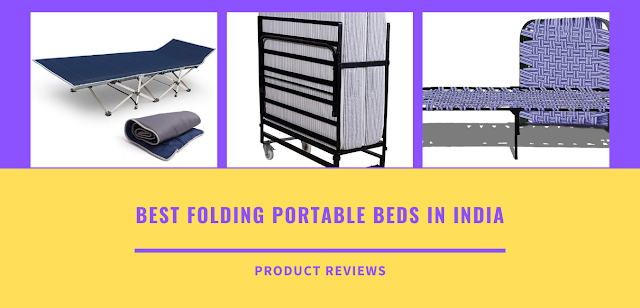 Best folding portable beds - types of folding beds most comfortable, rollaway for adults, guests with price