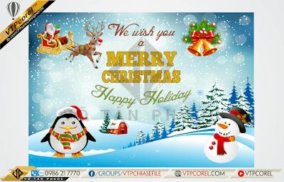 Phông nền trang trí giáng sinh - Noel - Merry Christmas