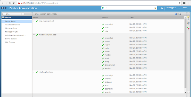 install zimbra mail server
