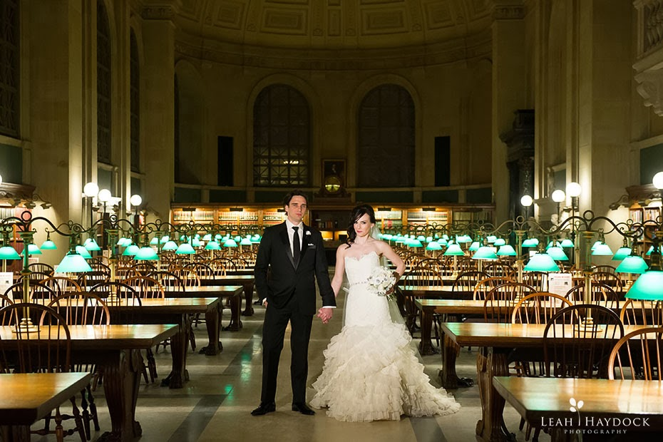 Boston Public Library Wedding  Old South Church
