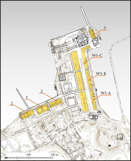 Modular construction in Byzantine Marea, Egypt