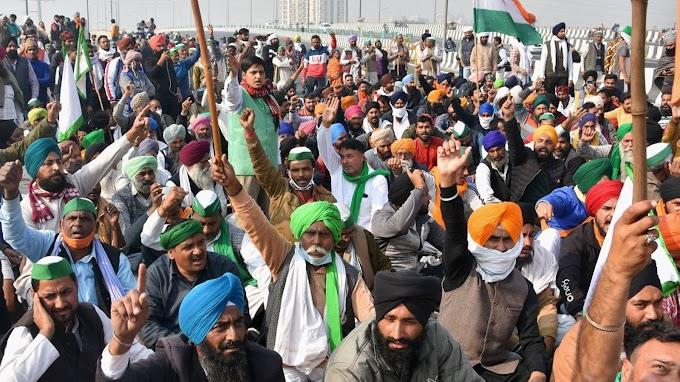 क्या किसान आंदोलन की आड़ में हो रही है किसानो की छवि बिगाड़ने की कोशिश ?