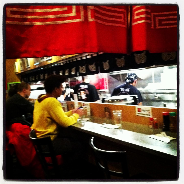 Sushi Hells Kitchen: GURL! Work That Fork!: Ramen In Hell's Kitchen: Tabata