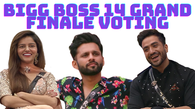 Bigg boss 14 grand finale voting