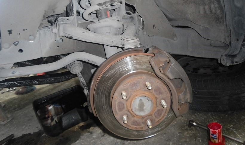 Problem with front brakes