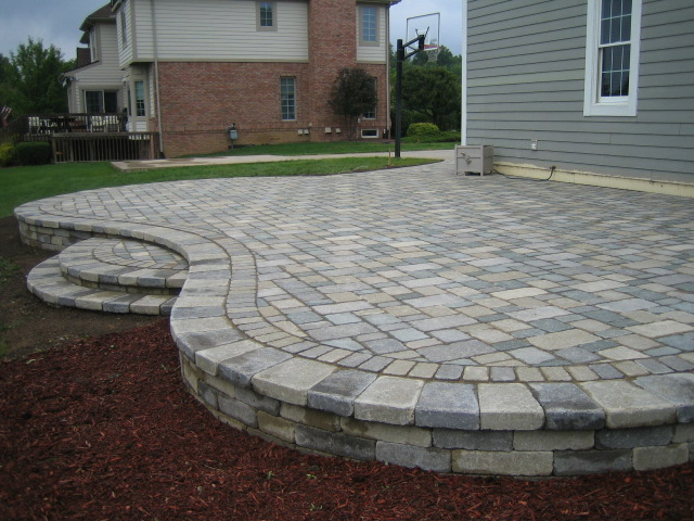Brick Pavers Canton Ann Arbor Plymouth Patio Patios Repair