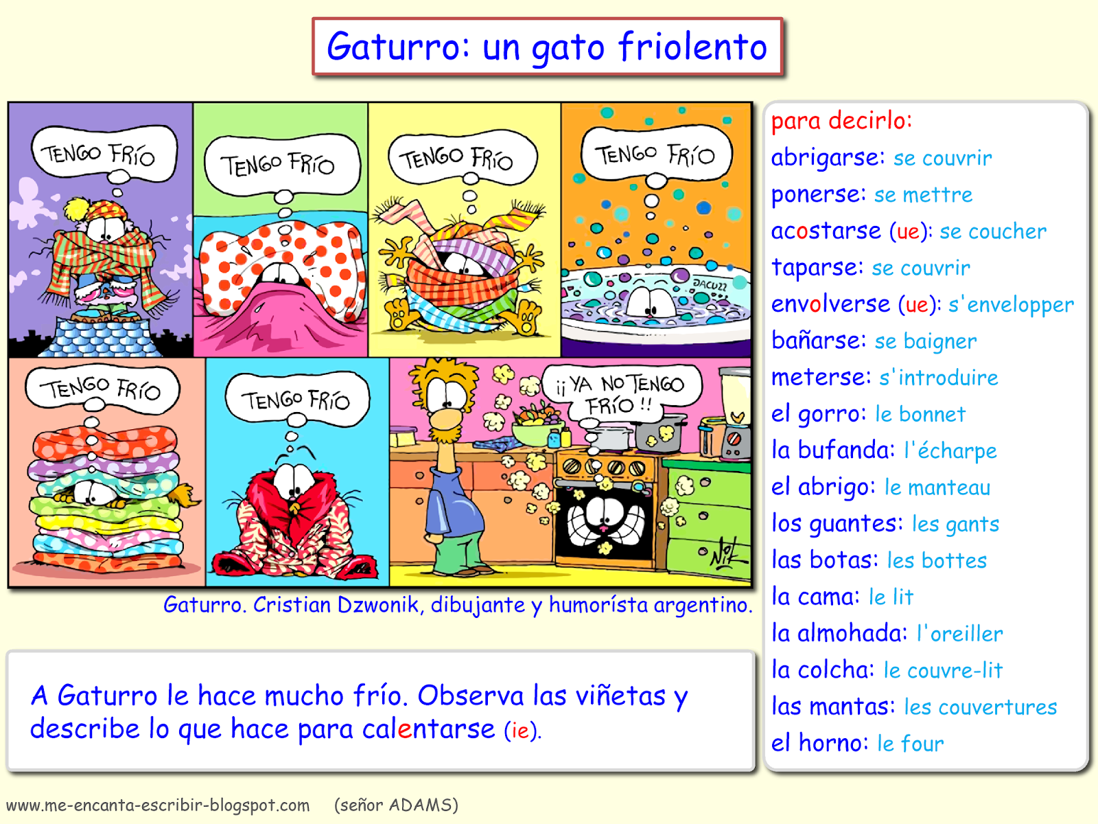 Me Encanta Escribir En Espanol Febrero