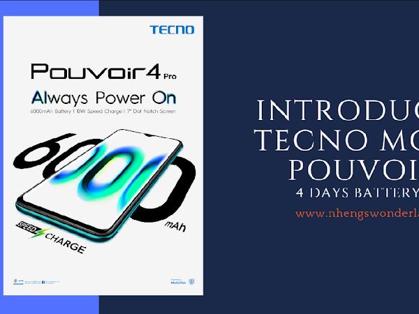 Introducing TECNO Mobile Pouvoir 4!