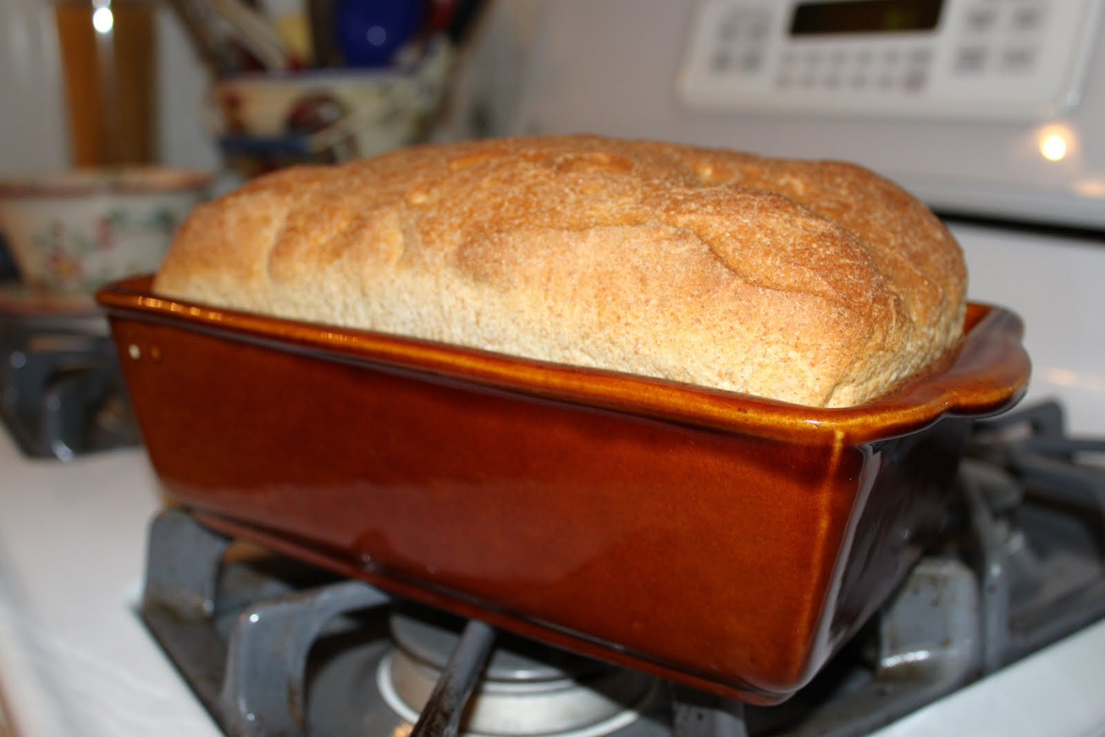 """Sew Much 2 Luv: How to """"oven bake"""" your bread machine"""