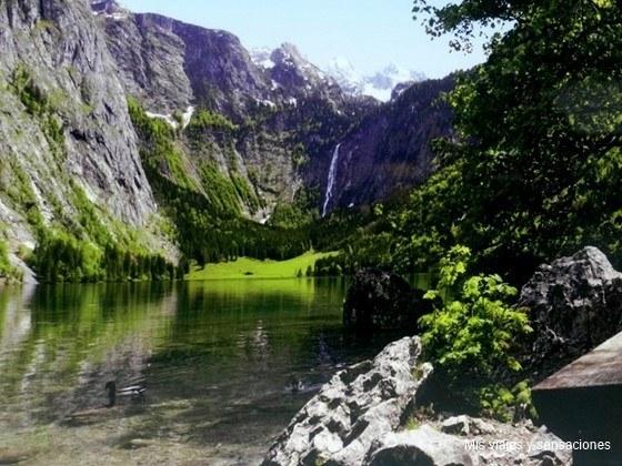 lago Obersee, Baviera, Alemania