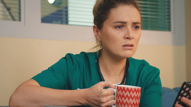 Casualty, BBC, episode reviews, series 32, episode 38, Alicia, Chelsea Halfpenny