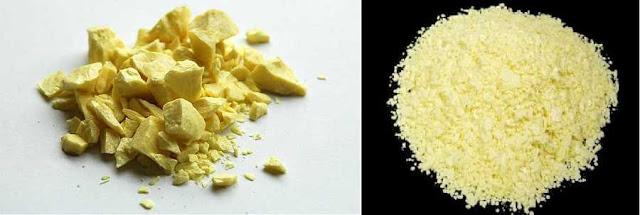 DIÊM SINH (LƯU HUỲNH) - Sulfur - Nguyên liệu làm Thuốc nguồn gốc khoáng vật