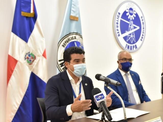 El INAPA anuncia  sorteo de  43 lotes de obras  por un monto total de RD$570 millones de pesos