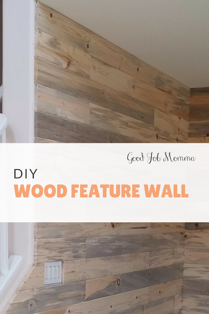 DIY: Wood Feature Wall | Good Job Momma