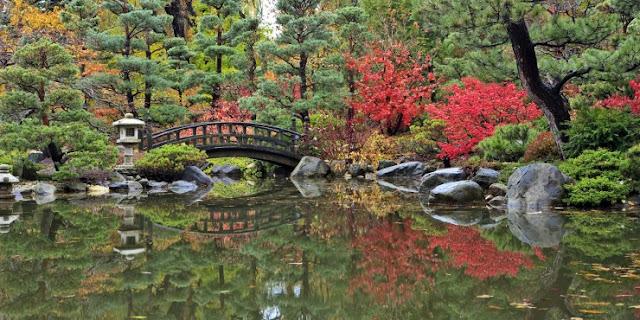 Anderson Jepang Gardens, Rockford, Illinois, Amerika Serikat