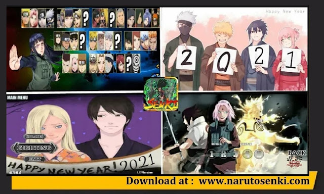 Download Naruto Senki Brutal War V2 Mod Apk