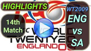 ENG vs SA 14th Match