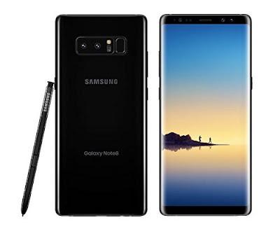 Daftar Kode-Kode Rahasia Samsung Galaxy Note 8 Terbaru