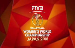 Women's Volleyball World Championships Biss Key Eutelsat 10A 15 October 2018