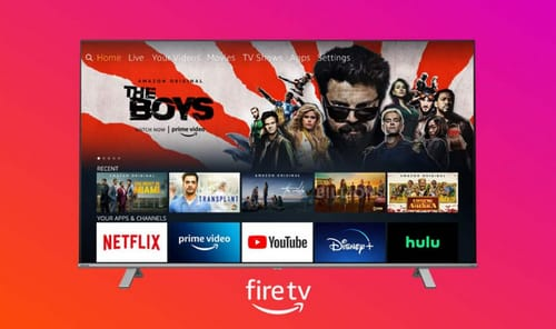 Toshiba launches TV with Amazon Fire TV interface