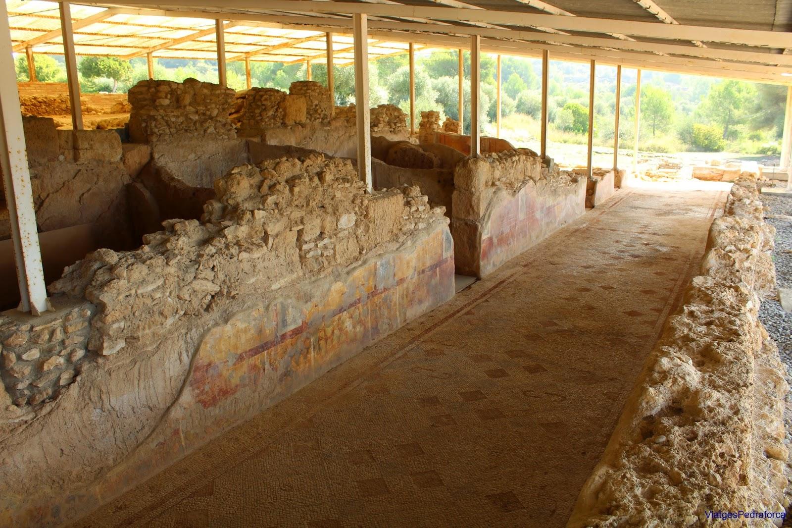 Vil.la romana dels Munts Altafulla Mosaics Conjunt arqueologic de Tarraco Patrimoni de la Humanitat Unesco