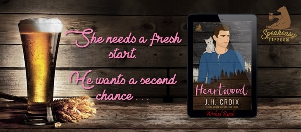 She needs a fresh start. He wants a second chance…  Heartwood by J.H. Croix