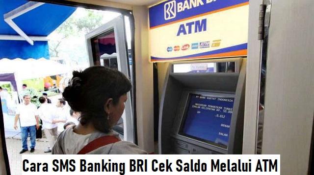 Cara SMS Banking BRI Cek Saldo