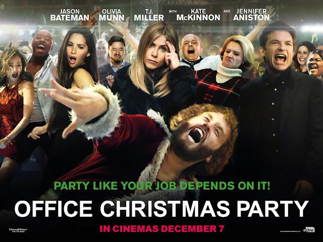 posterul filmului petrecere la birou