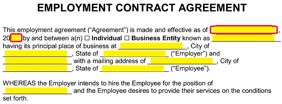 The Employment Agreement