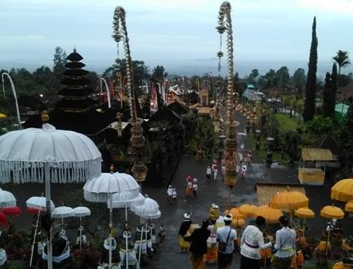 Pura Penataran Agung Besakih, Penataran Agung Temple Besakih