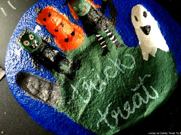 Salt Dough Halloween Keepsake