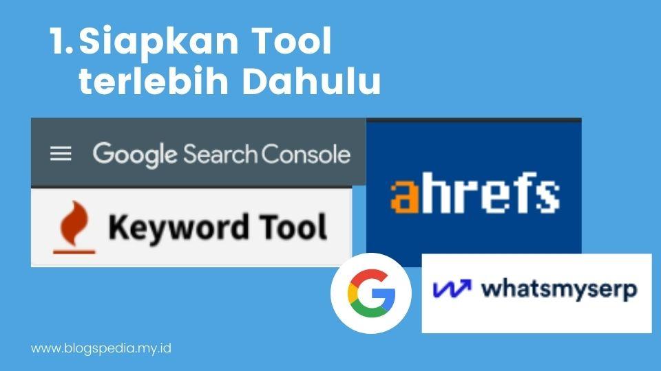 tool untuk riset kata kunci