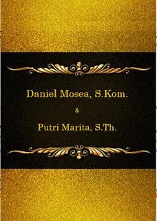 undangan pernikahan kristen elegan warna hitam