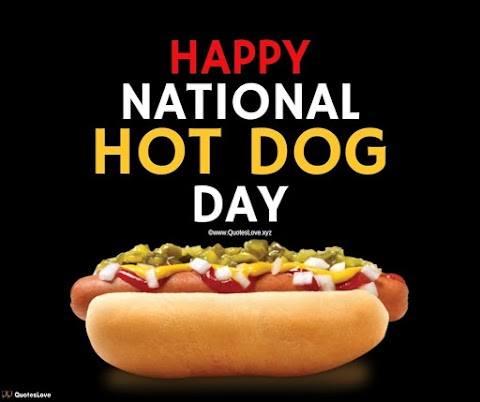 24+ [Best] National Hot Dog Day 2021: Quotes, Sayings, Wishes, Greetings, Messages, Images, Pictures, Poster, Wallpaper