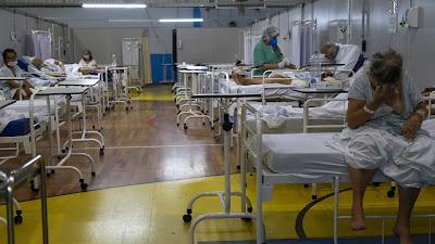 O hospital foi prometido para março de 2020, no início da pandemia, e teve sua inauguração adiada três vezes