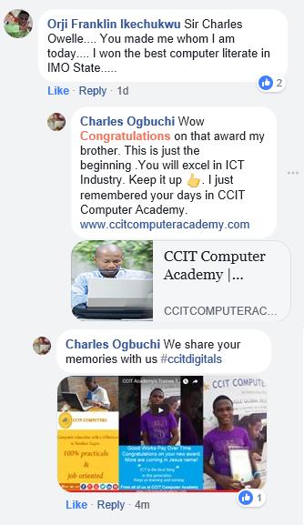 ccit computer academy testimonial