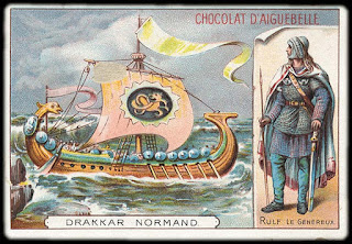Chromo Drakkar normand