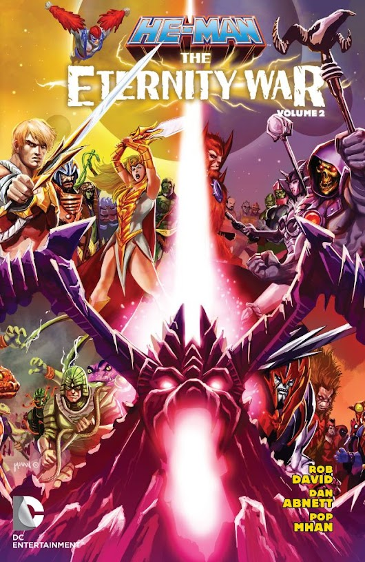 Cover to He-Man the Eternity War TBP Volume 2 is revealed!