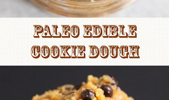PALEO EDIBLE COOKIE DOUGH