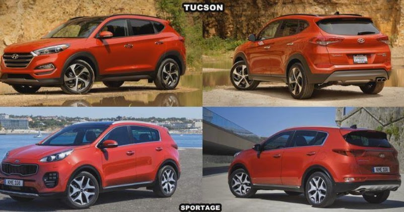 Kia Sportage 2016 Vs Hyundai Tucson 2015 Video Confronto