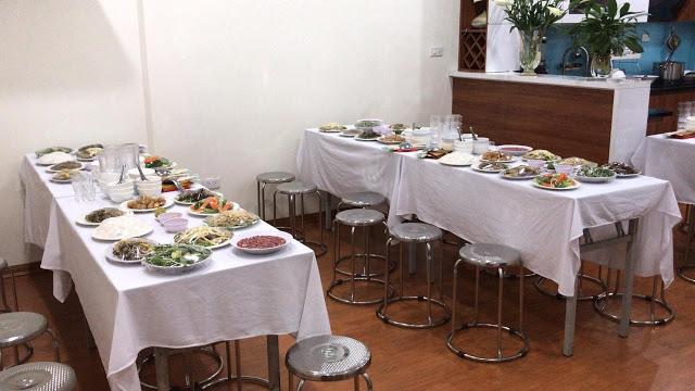 Đặt Tiệc Tân Gia ở Hà Đông 10 Mâm