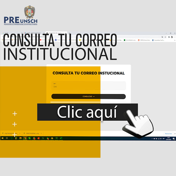 CONSULTA TU CORREO INSTITUCIONAL