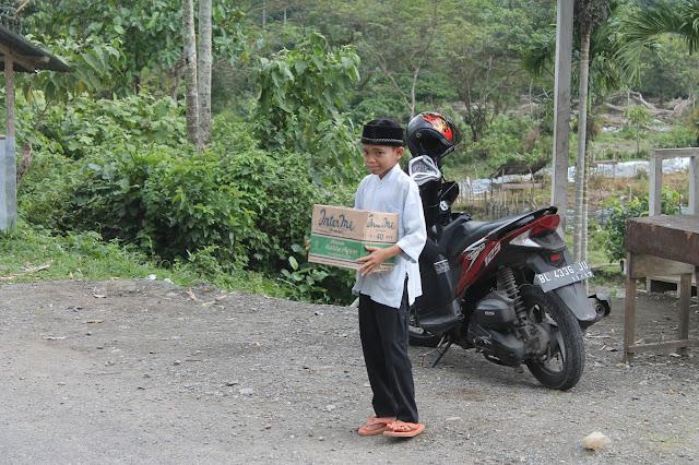 Menunggu sumbangan para dermawan untuk pembangunan dayah