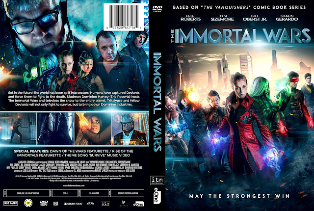 The Immortal Wars (scan) DVD Cover