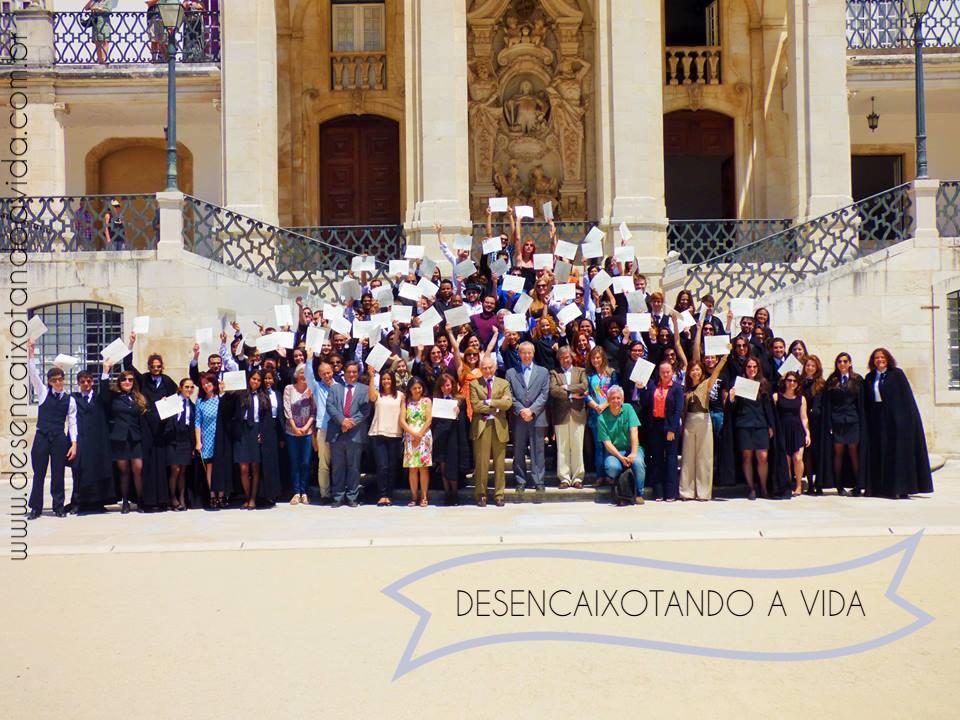 Estudantes Internacionais na Universidade de Coimbra
